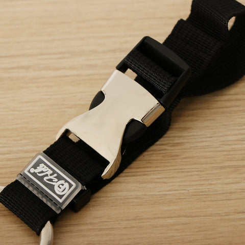 Add-A-Bag Luggage Strap Jacket Gripper, Baggage Suitcase Straps Belts Black