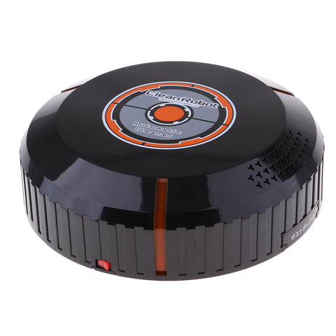 Smart Robot Vacuum Cleaner MOP for Pet Hair Thin Carpet Hard Floor Black