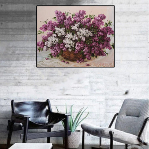 5D Diamond Painting Embroidery Cross Stitch Kit Home Decor Flower 2