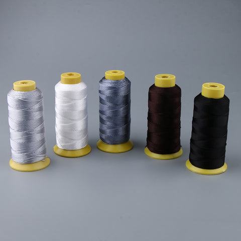 200 Meters Bonded Nylon Sewing Thread for Upholstery Leather Coffee