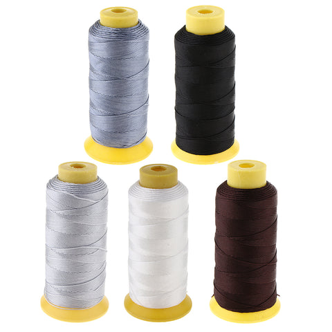 200 Meters Bonded Nylon Sewing Thread for Upholstery Leather White