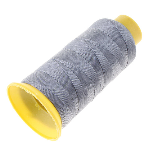 Image of 280 Meters 210D Upholstery Nylon Sewing Thread Spool DIY 9 Ply Grey