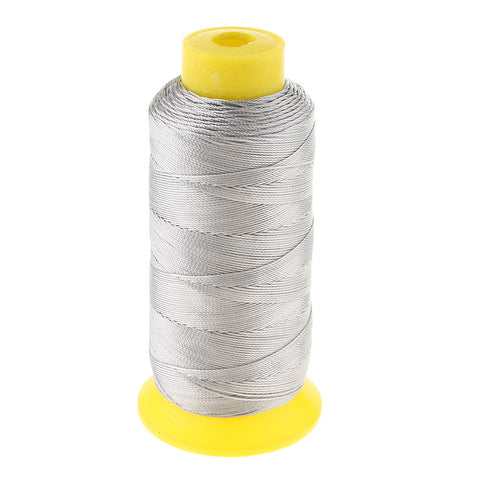 280 Meters 210D Upholstery Nylon Sewing Thread Spool DIY 9 Ply Light Gray