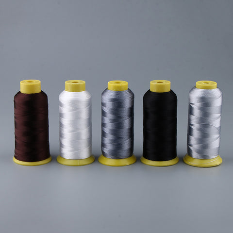 Strong 210D Bonded Nylon Sewing Thread for DIY Leather Craft 900m White