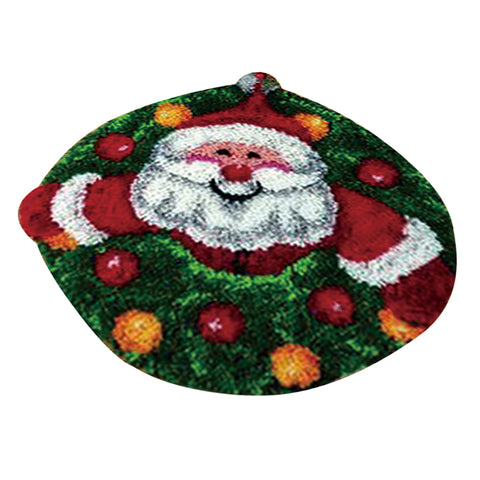 Latch Hook Kits Carpet Latch Hooking Rug Kits Cushion Embroidery Santa Claus