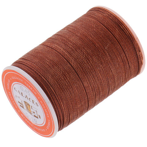 0.45mm Leather Sewing Waxed Thread Hand Stitching Repair Cord Coffee 2