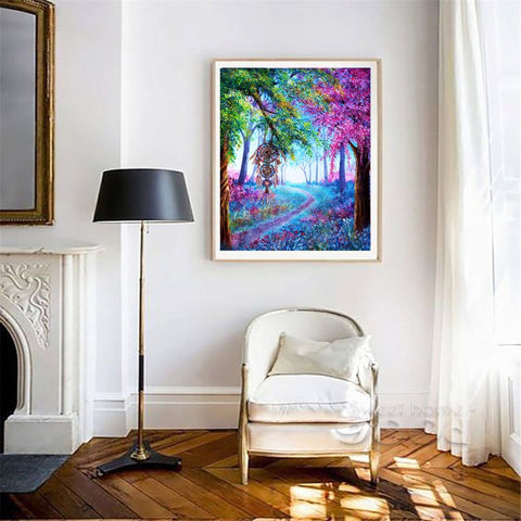 Full Drill Diamond Painting Animal Pictures for Home Decor forest