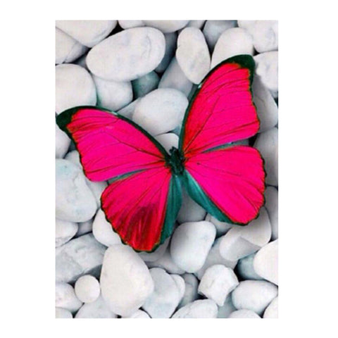 DIY 5D Diamond Painting Embroidery Cross Stitch for Home Decor Butterfly