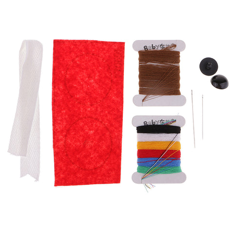 1 Set Flannel Fabric DIY Plush Toy Making Kit Hand Craft for Beginner Libra