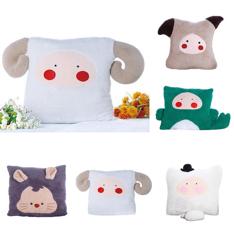1 Set Flannel Fabric DIY Plush Toy Making Kit Hand Craft for Beginner Aries
