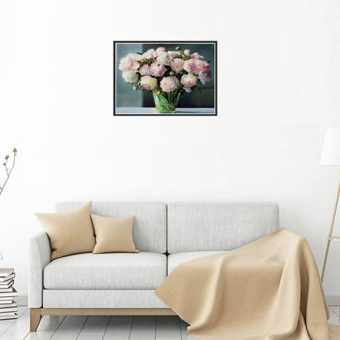 DIY 5D Diamond Painting Embroidery Cross Stitch for Home Decor Chinese Rose