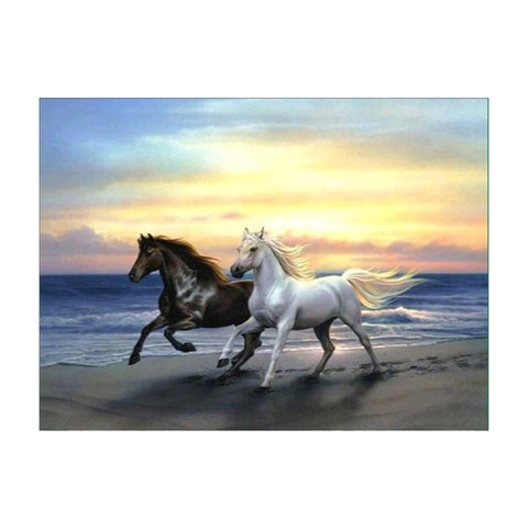 DIY 5D Diamond Painting Embroidery Cross Stitch for Home Decor Horses