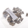 20 Sets Copper No-Sew Hook & Eye for Trouser Skirt Sewing Fasteners Bronze