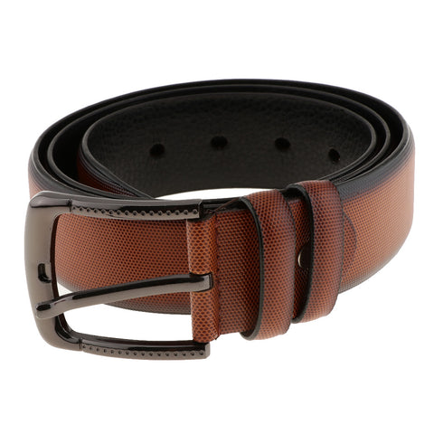 Image of Mens PU Leather Strap Belts Pin Buckle Jeans Pants Belt Waist Belts Brown
