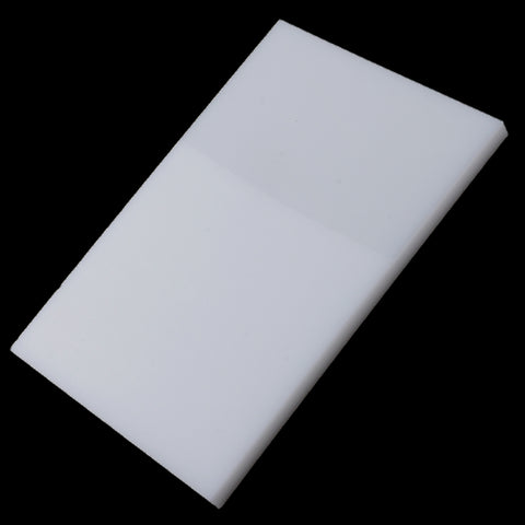 Plastic Cutting Board Hole Punch Stamping Tool LeatherCraft White  15 x 10cm