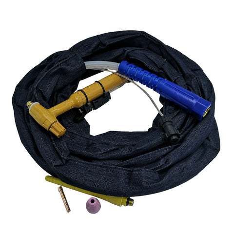 Image of QQ150 TIG Welding Torch with High Temperature Resistant Silicone Hose 4m