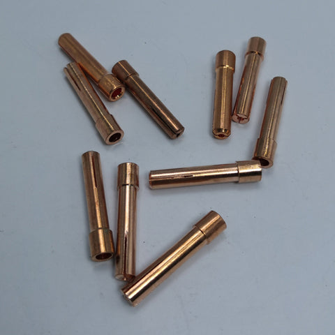 10pcs TIG Collet Tips For WP9 18 26 TIG Welding Torch Series 1.6mm