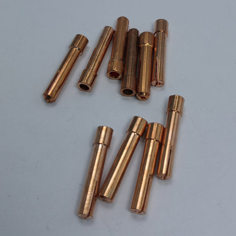 Image of 10pcs TIG Collet Tips For WP9 18 26 TIG Welding Torch Series 1.6mm