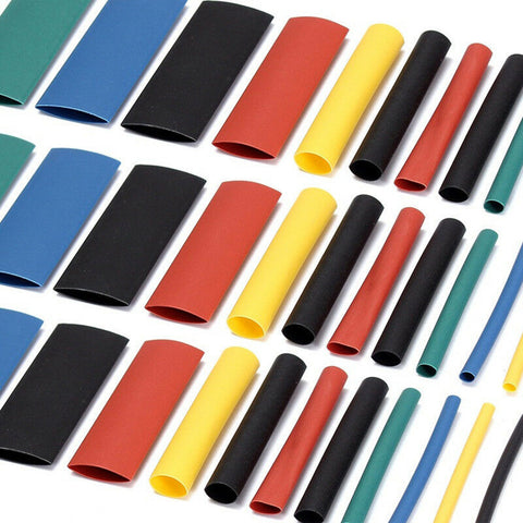 1060PCS Heat Shrink Tubing Tube Sleeve Wrap Wire Assortment 8 Size 5 Color