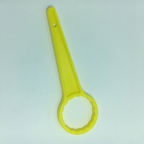 Bucket Wrench Plastic Lid Opener Oil Can Bottle Opening Tool Yellow_46mm