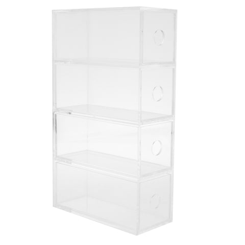 Multi-Layers Acrylic Drawer Organizer for Sunglasses Small objects 4 Layers