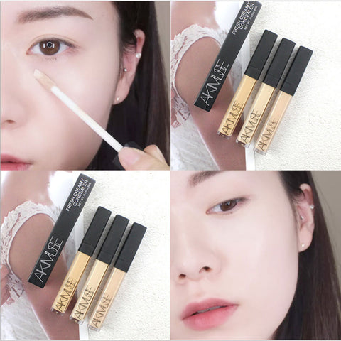 KIMUSE Waterproof Concealer W/ Stronger Concealing for Face Eyes Milk White