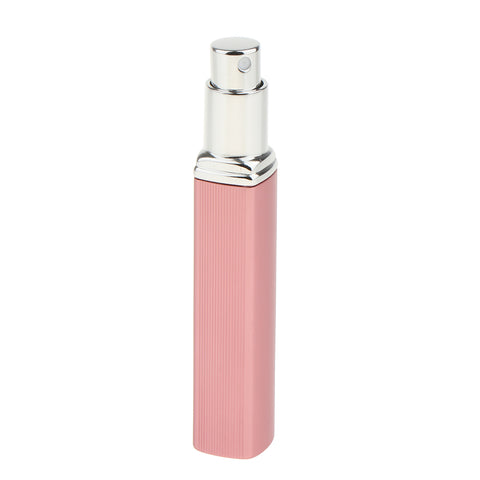 Image of 10ml Aluminium Refillable Perfume Atomizer Pump Empty Spray Bottle Pink