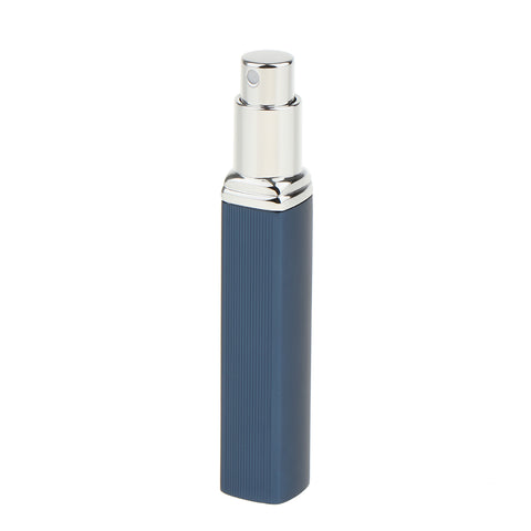 Image of 10ml Aluminium Refillable Perfume Atomizer Pump Empty Spray Bottle Blue