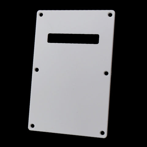 Electric Guitar Backplate Back Plate Tremolo Cavity Cover for FD ST SQ White