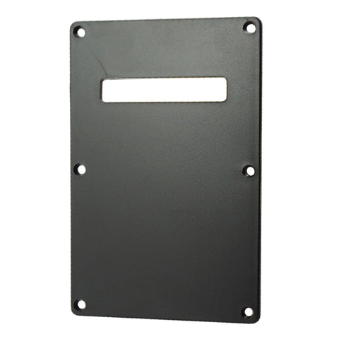 Electric Guitar Backplate Back Plate Tremolo Cavity Cover for FD ST SQ Black