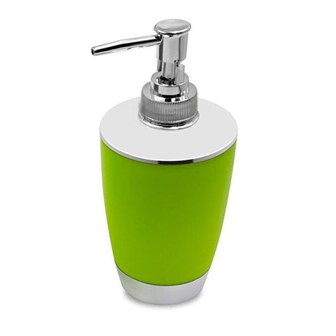 6PCS Solid Luxury Plastic Bathroom Accessories Set Wash Suit Green