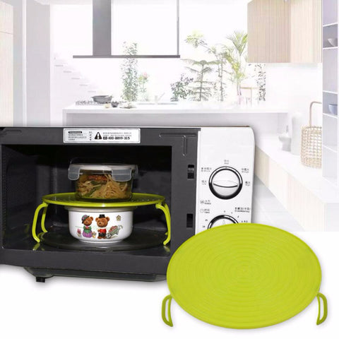 Microwave Oven Heating Shelf Heating Kitchen Tray Oven Cooking Rack Green