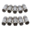 Cable TV Joint 75-5 Full Copper Cold Head/RG60/F Head/Metric - Press F Head