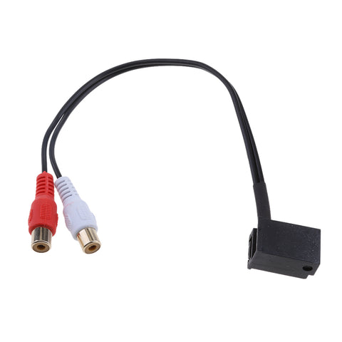 AUX Input Female Audio Adapter Cable for iPod/MP3 to BMW Z4/Opel Car Player