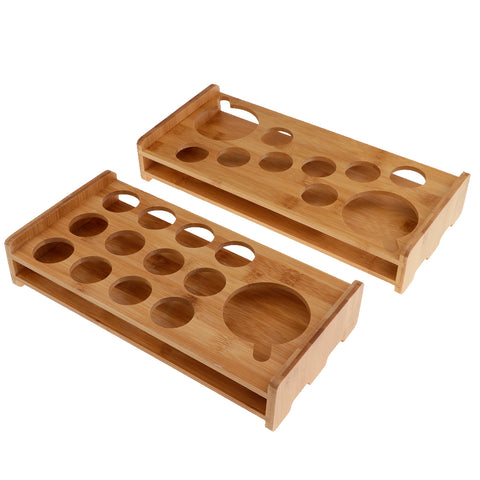 Bamboo Liquor Cup Rack Glass Holder Beer Glasses Stand 10 Holes 13 Holes By Random