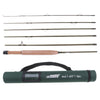 Carbon Fly Fishing Rod 6 Pieces Fast Action Soft Cork Handle Fly Rod Model 3