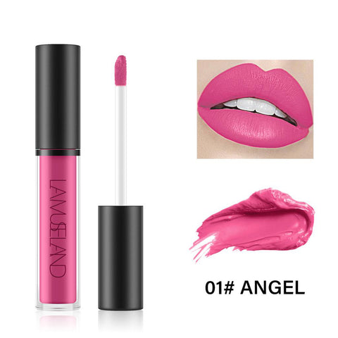 7 Colors Long Lasting Waterproof Liquid Lipstick Matte Lip Gloss LA01-01