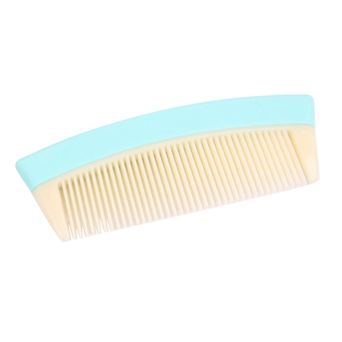 Travel Pocket Fine Tooth Detangling Hair Comb Anti-static Comb Blue