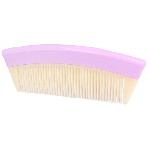 Travel Pocket Fine Tooth Detangling Hair Comb Anti-static Comb Purple