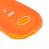 Car Key Silicone 3 Buttons Protective Case Cover For Toyota Mirai  Orange