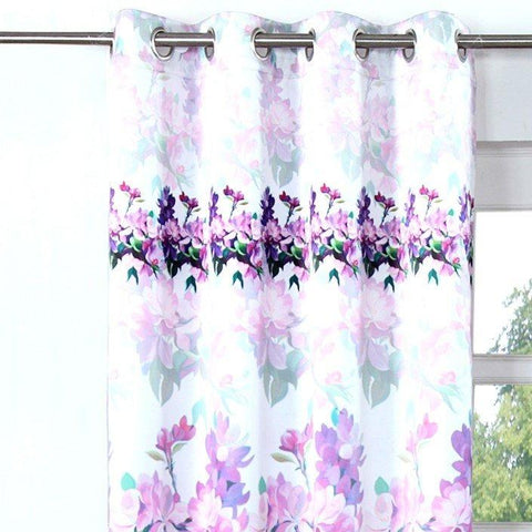 274 cm (9 ft) Polyester Long Door Curtain Single Curtain  (Printed, Multicolor)
