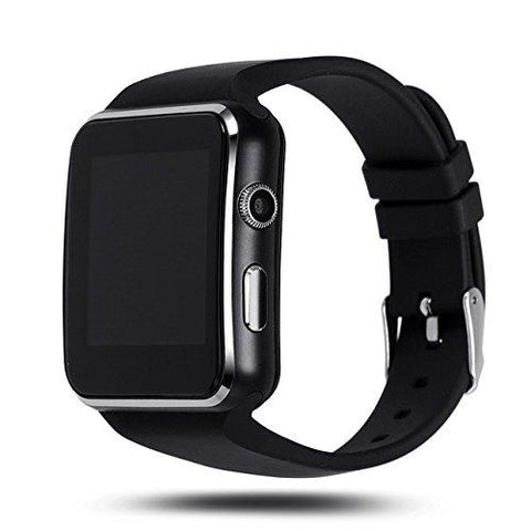 Bluetooth Curved Screen Smart Wrist Watch with Camera & SIM Card Support Compatible with All Smartphones