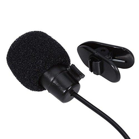 Microphone for Bloggers and Vloggers Lapel Mic Clip-on Omnidirectional Condenser for All Smartphone