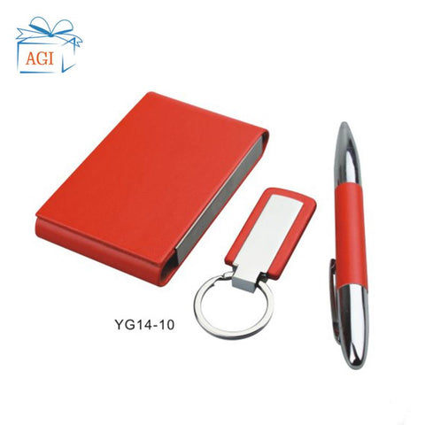 Image of Corporate Gifts Men Pen Keychain set with box for Gifts