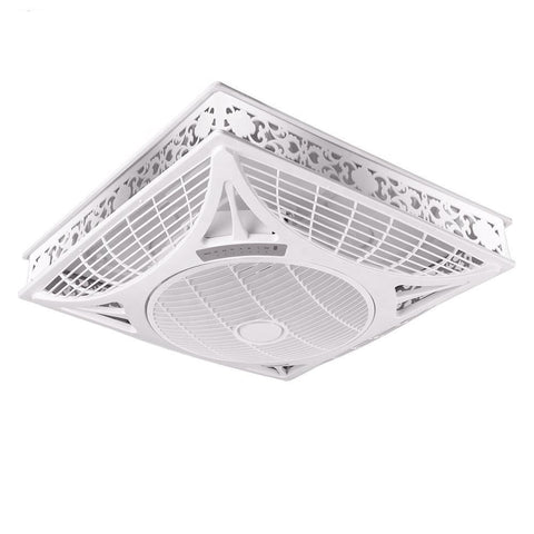 High Quality Silent 14 inch Air Conditioning Ceiling False Mont Box Fan with Light