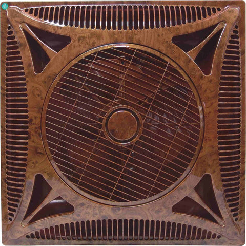 2x2ft 60*60cm 14/16/18 inch air circulator SHAMI false ceiling box fan W/ remote control auto start LED light optional