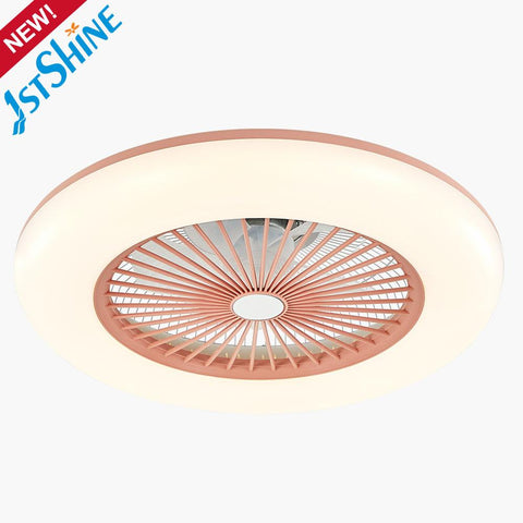 1stshine Smart Remote Control AC Motor LED Ceiling Fan Box Fan With LED Ceiling Fan
