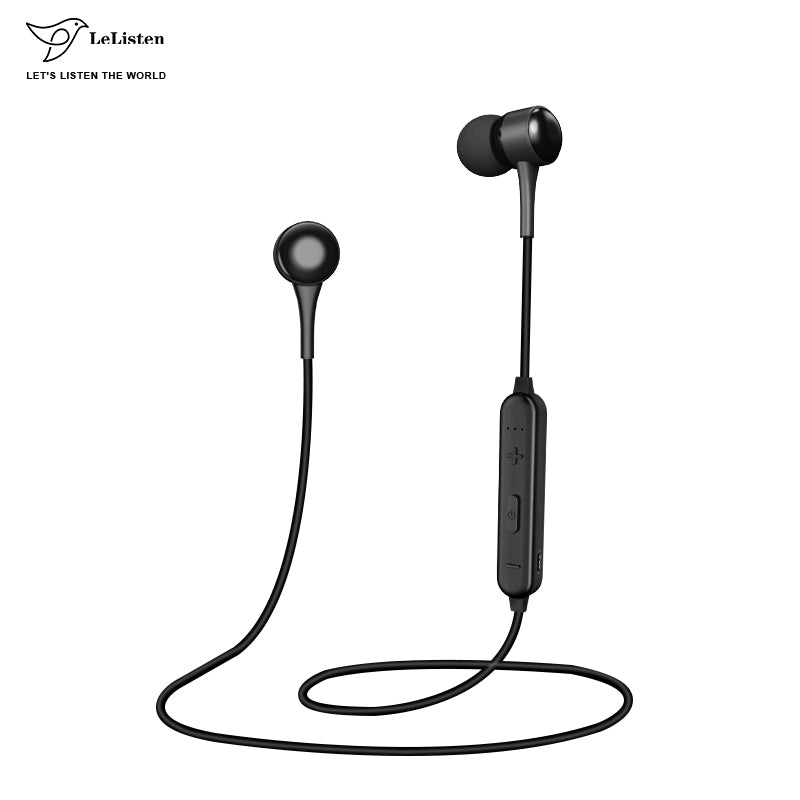 Fashion Ear Bluetooth Sport Red Earphone Headset Headphone With Microphone Wireless For Android