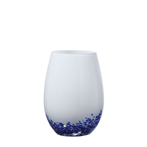 Decorative Round Bottom Drinking Glass