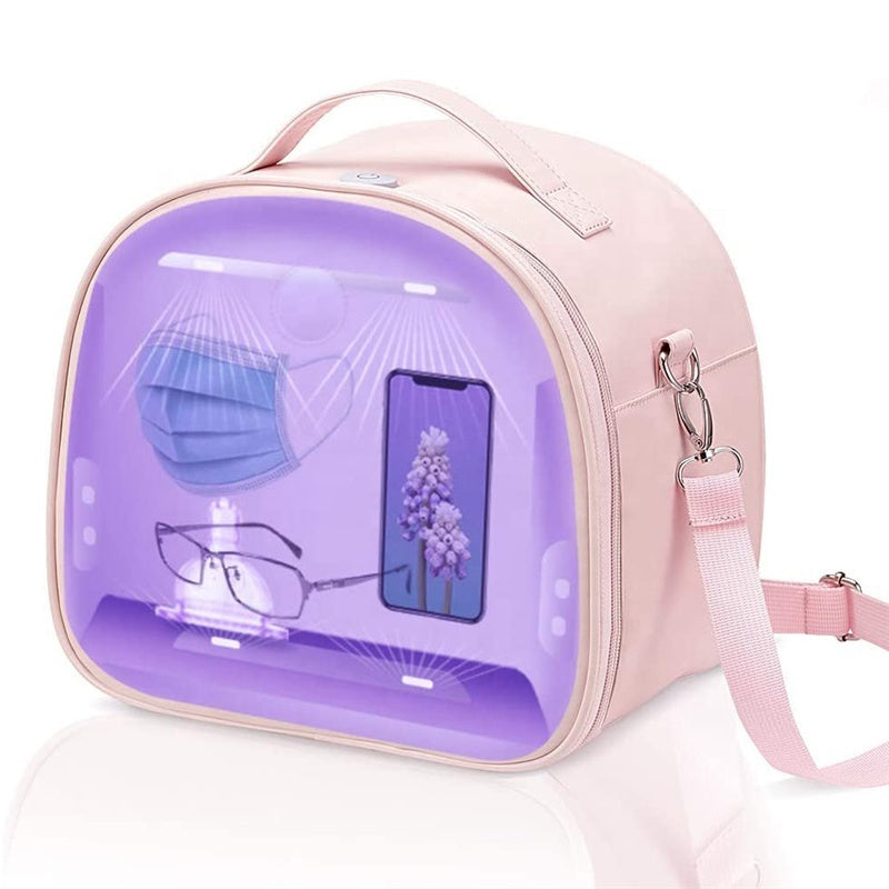 P&T Portable USB Rechargeable LED UV Bag Underwear and Beauty Tools UV protective Bag
